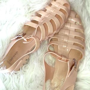 Forever 21 nude jellies